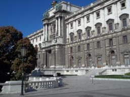 Foto di Vienna (Hofburg)