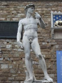 Foto di Firenze (copia del David di Michelangelo)