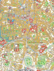 Mappa del centro di Padova