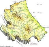 Cartine geografiche dell'Abruzzo