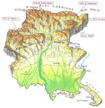Cartine geografiche del Friuli Venezia Giulia