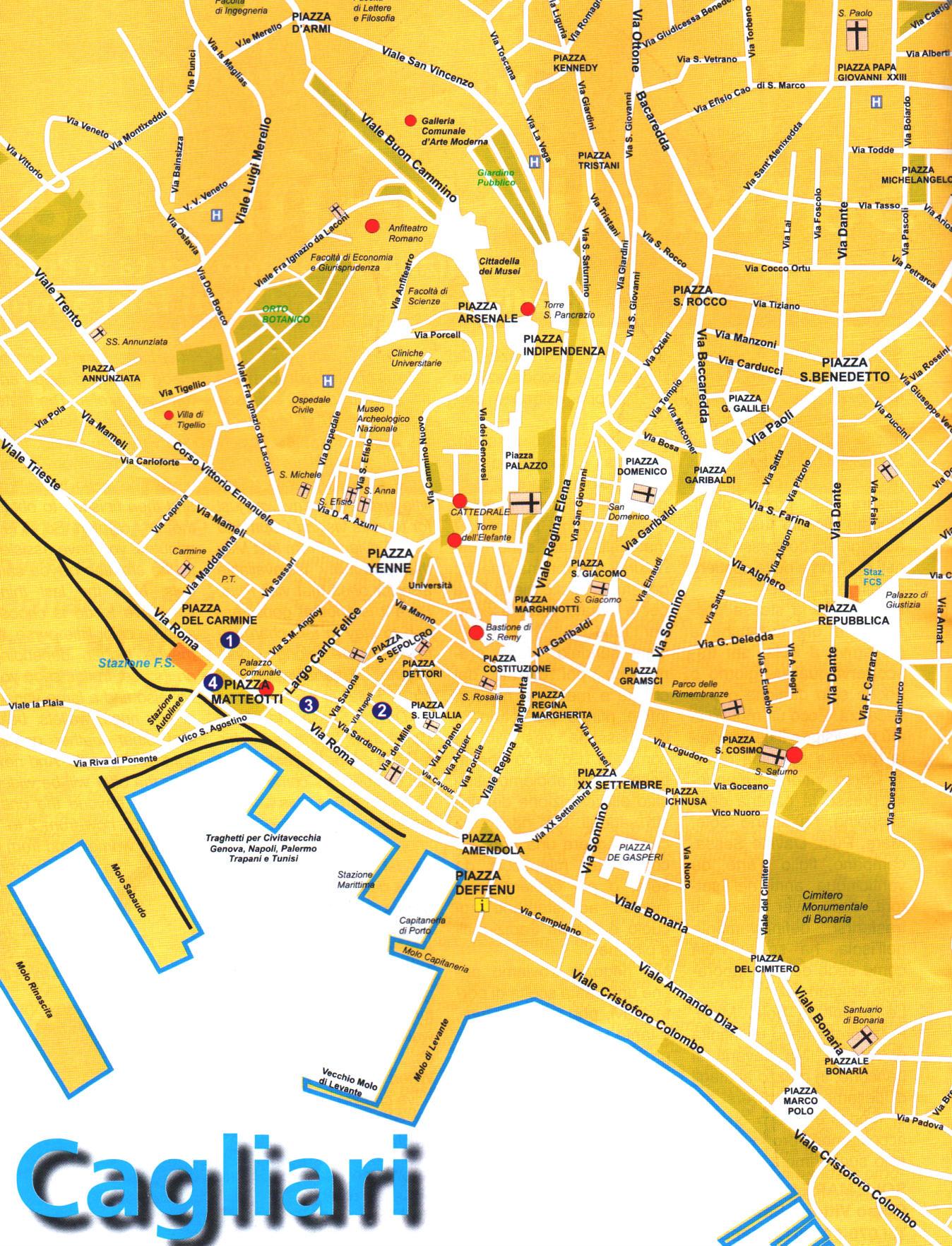recensioni evasioni cagliari map - photo#5