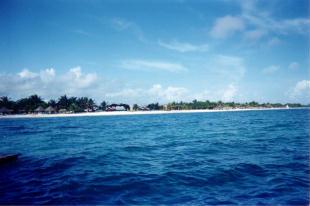 Foto di Playa Santa Lucia (veduta dal molo)