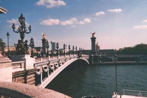 Foto di Parigi (Ponte Alexandre III)