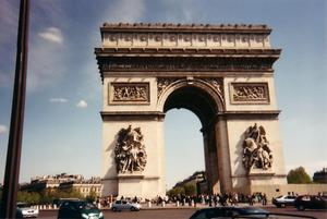Foto di Parigi (Arco di Trionfo)