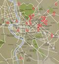 Mappa del centro di Roma