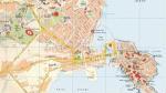 Mappa del centro di Siracusa