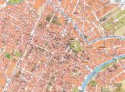 Mappa del centro di Torino
