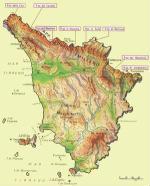 Cartine geografiche della Toscana