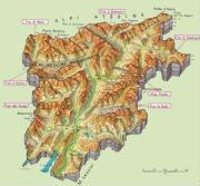 Cartine geografiche del Trentino Alto Adige
