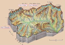 Cartine geografiche della Valle d'Aosta