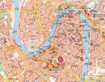 Mappa del centro di Verona