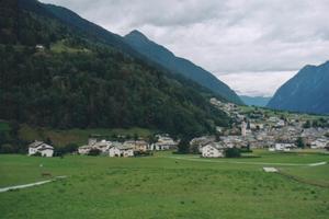 Foto dal Bernina Express (Poschiavo)