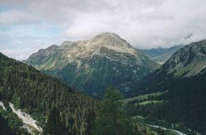 Foto del Passo del Maloja