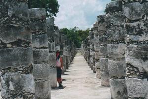Foto di Chichen Itza (Tempio delle Mille Colonne)