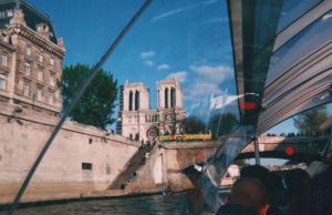 Foto di Parigi (vista dal battello sulla Senna)
