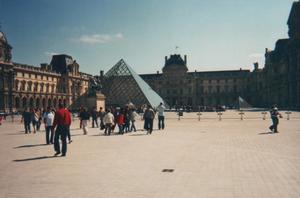 Foto di Parigi (Palazzo del Louvre)