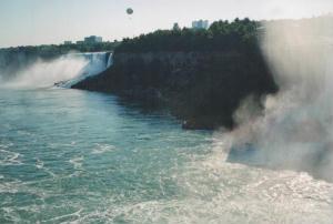 Foto delle Cascate del Niagara (American Falls, Bridal Veil Falls e Horseshoe Falls)