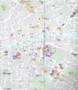 Mappa del centro di Dublino