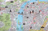 Mappa del centro di Praga