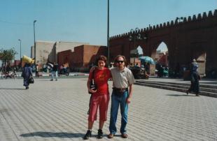 Foto di Marrakech (davanti alla Bab Doukkala)