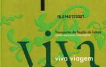 Tesserino abbonamento per viaggiare a Lisbona