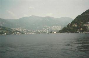 Foto di Como (panorama del lago)