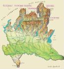 Cartine geografiche della Lombardia
