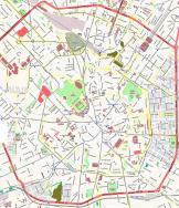 Mappa del centro di Milano