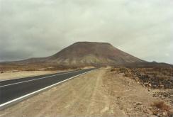 Spagna, foto di Fuerteventura (verso Corralejo)