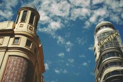 Foto di Madrid (palazzi della Gran Vía)