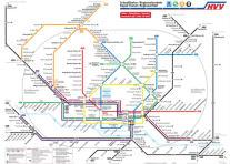 Mappa della metropolitana di Amburgo