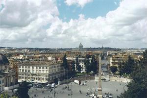 Foto di Roma - veduta dalla Terrazza del Pincio