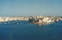 Foto di Malta (veduta del Grand Harbour di La Valletta