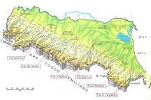 Cartine geografiche dell'Emilia Romagna